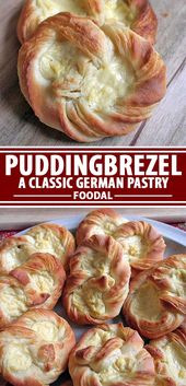 German Puddingbrezel