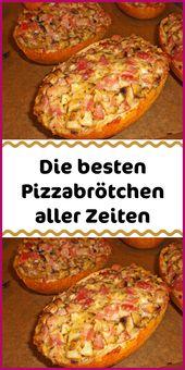 Die besten Pizzabrötchen aller Zeiten   – Einfache Rezepte