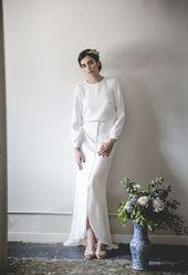 """""""Mélancolie"""" av Alejandra Svarc: romantiska och vintage bröllopsklänningar ─ … – brud"""