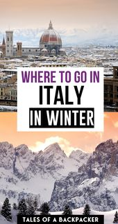 The place to go in Italy within the Winter