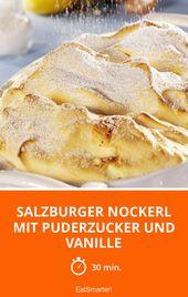 Salzburger Nockerl mit Puderzucker und Vanille