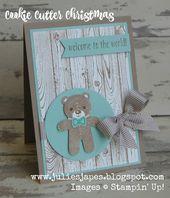 Baby Cards Julie Kettlewell - Stampin Up UK Independent Demonstrator - Order products 24/7:...