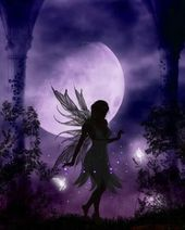 "Moon Light Fairy!!! Bebe'!!! In the ""Blue Moonlight Garden""!!!"