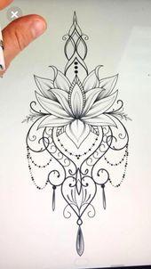 Frau Tätowierungen #Mandalatattoo   – Tattoo ideen – #Frau #Ideen #Mandalatattoo #Tätowierungen