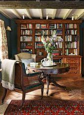 Bücherregal-Styling und ein Mini-Makeover -% – #Bookshe …