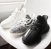 2019 Kanye West negro con caja New Antlia Static Reflective Clay Running Shoes Classic Cream White Men Women Designer Sneakers 36-48   – Running Shoes