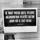 #Quotation à la con !