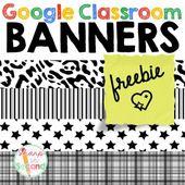 FREEBIE Google Classroom Banners