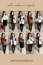 Winter Workwear Capsule: TARGET & LOFT Neutrals | …