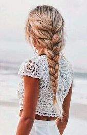 Wenn du dir diesen tollen Zopf flechten wirst, wird jeder dich bewundern – Haare und so ……