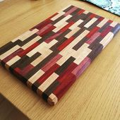 Hand-crafted, cutting board made of black walnut, …