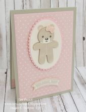Baby Cards Stampin' Up! UK Independent Demonstrator Teri Pocock. Purchase products onli...