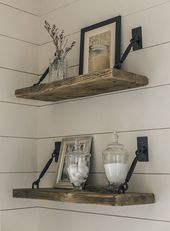Einfache rustikale DIYs Joanna Gaines würde total…