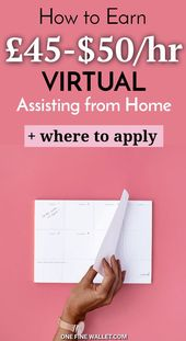 So werden Sie ein virtueller Assistent ohne Erfahrung – $ 35-50 / Std – Work from home Jobs