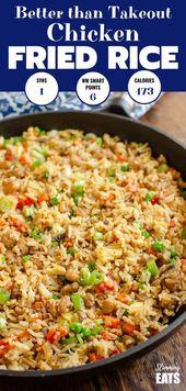 Besser als Low Syn Chicken Fried Rice zum Mitnehmen – befriedigen Sie Ihr Verlangen mit diesem …   – Asian Meals