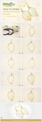 23 simple DIY earrings for your summer style – 23 simple DIY earrings for …