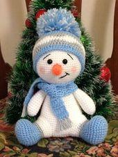 Crochet Patterns Snowman Crochet Pattern – CK Crafts