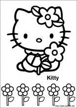 Dibujos De Hello Kitty Para Colorear En Colorear Net Hello Kitty Colouring Pages Hello Kitty Coloring Kitty Coloring