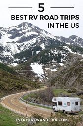 De bästa RV Road Trips i USA