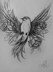 24 schöne Schwalben-Tattoos-Ideen #TattooStyle 24 schöne Schwalben-Tattoos-I – Tattoos