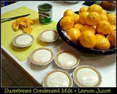 Meyer Lemon Pie (No Bake und 2 Zutaten)