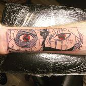 Mangekyou Sharingan von Lou Cifer @ Taboo Tattoo Keyport NJ