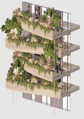 Arboricole von Vincent Callebaut Architectures