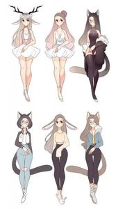 Photo of Drawing cute anime character design 70+ ideas #clothesdrawin…