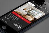Hotel App Mobile UI by Ryan Pittman. 25 Stunning Mobile UI Examples. #mobile #ui