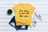 Lustige Katzenhemden mit Sprüchen, Katzenliebhaberhemd, Katzenmutterhemd, lustige T-Shirt Frauen, Katzenliebhabergeschenk, Katzeninhaberhemd-Geschenkgröße S M L XL
