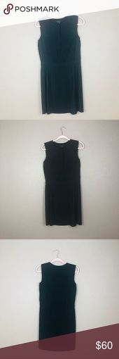 "Theory silk black dress Theory silk dress  93%silk, 7%spandex  35.5"" length  3… – My Posh Picks"