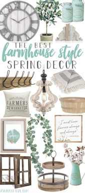 Le meilleur décor de printemps de style ferme   – Farmhouse products