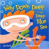 Muy profundo en el profundo mar azul  – Products