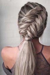 10 Ultra-Pferdeschwanz-Frisuren für langes Haar – # für #Haar #langes #UltraPfe …  – haar