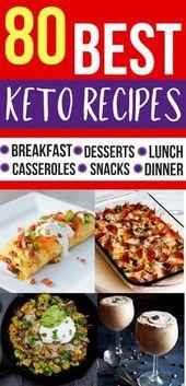 Las mejores recetas keto! ¡Me encantan estas recetas bajas en carbohidratos para mi dieta cetogénica! #cetogénico …