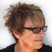 Nobel & Einfach: 23 kurze Frisuren für ältere Frauen