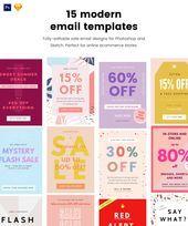 15 Moderne E Mail Vorlagen Designs E Mail Design E Mail