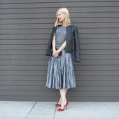Style over 40, style over 50, evening look over 40, middle aged style, midlife style, date night look, style inspiration, style tips, fashion should b...