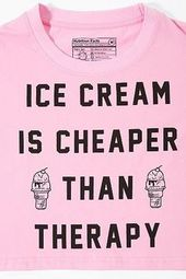 Id Give Up Ice Cream But Im Not A Quitter Funny Workout Out Of Shape Parody Running Sucks Hungry Dessert Food SGAL1 Womens Shirt