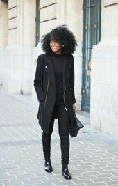Schauen Sie sich die Ideen für schwarze Outfits an, die Sie jeden Tag mit Eleganz rocken können FashionGHANA.com: 100% afrikanische Mode   – All Black Outfit