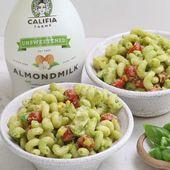 Creamy Avocado Pasta Salad Recipe Video