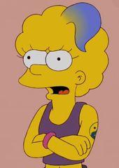 Zia Simpson Personajes De Los Simpsons Dibujos Picachu Dibujo