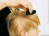 How to make the boy haircut: