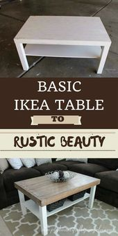IKEA Table Makeover (Nimm zwei