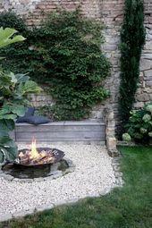 DIY DIY Feuerecke, Garten anlegen, Feuerecke gestalten, Garteninspiration, Gartenblo...