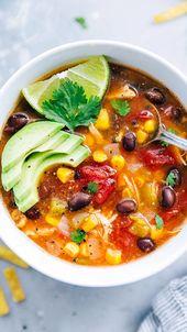 Instant Pot or Crockpot Mexican Tortilla Soup