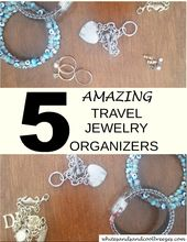 5 Amazing Travel Jewelry Organizers She'd Love To Have