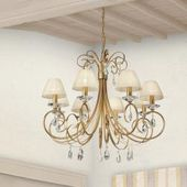 Lam chandelier in Florentine style – Made in Italy – Antique silver 4265/005 / pv / a1 LamLam