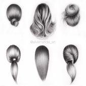 Wenn Sie Probleme mit dem Zeichnen von Haaren haben, können sich diese Tipps zum Zeichnen von