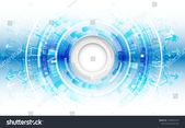 Abstract futuristic technological background with various technology elements. Hi-tech global communication. #Ad , #sponsored, #technological#backgrou…